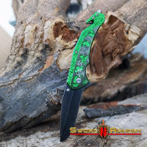 Spring Assisted Pocket Folding Knife
