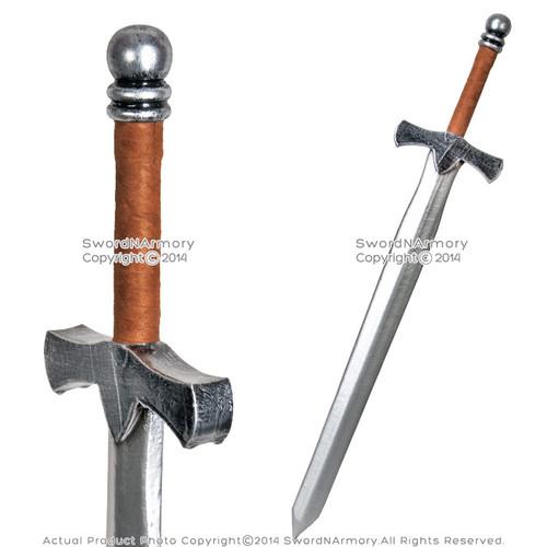 "36"" Fantasy Dark Knight Arming Sword LARP Foam Latex Video Game Weapon Cosplay B"
