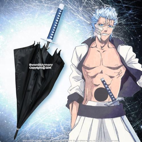 Licensed Bleach Anime Sword Umbrella Grimmjow Jaegerjaquez Pantera Resurreccion