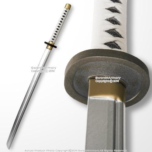 SparkFoam Fantasy Anime Foam Samurai Katana Toy Sword White Handle Cosplay LARP