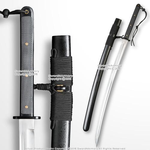 "37"" Tactical Katana Modern Functional Samurai Sword 1045 Steel Blade Sharp"