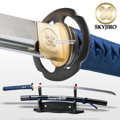 Skyjiro S1 Mokko Handmade Iaito Iaido Sword Dojo Grade Differential Harden  Blade