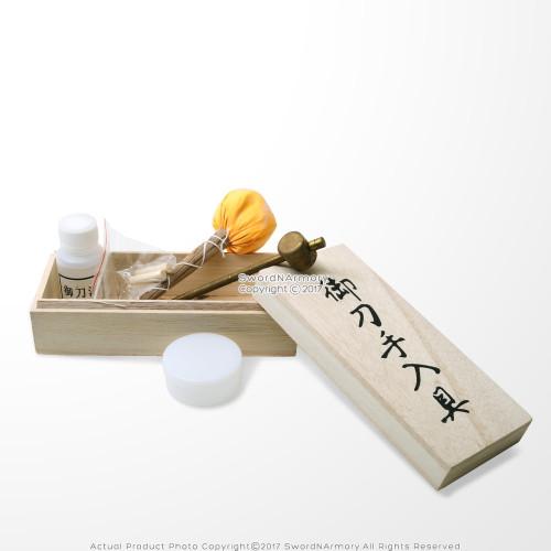 Japanese Samurai Katana Sword Maintenance Cleaning Kit 2