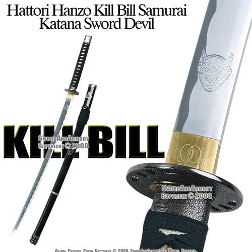 Musashi Brand Handmade Kill Bill Hanzo Steel Samurai Katana Bill Sword Sharp