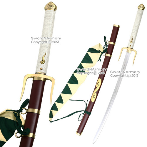 Champloo Mugen Typhoon Swell Sword White Handle