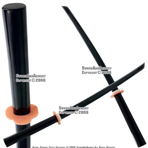 """Set of 2 40"""" Hardwood Datio Bokken Kendo Practice Sword"""