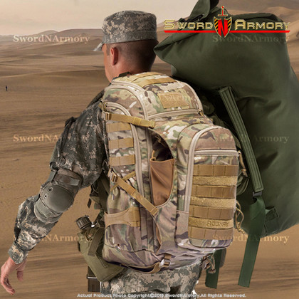 Getting Tactical at Sword N Armory Tactical Backpack and Tactical Vest