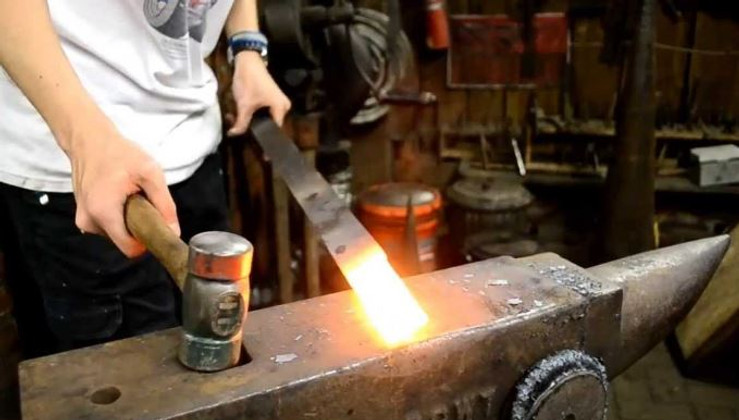 The Sword Making Process: Forging. Tempering. Folding