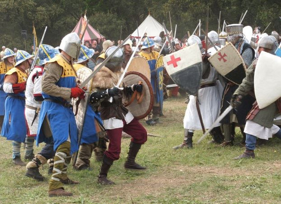 Behind The Scenes Look For What Goes Into Doing a Medieval Reenactment