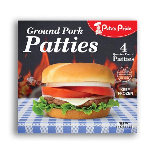 Ground Pork Patties