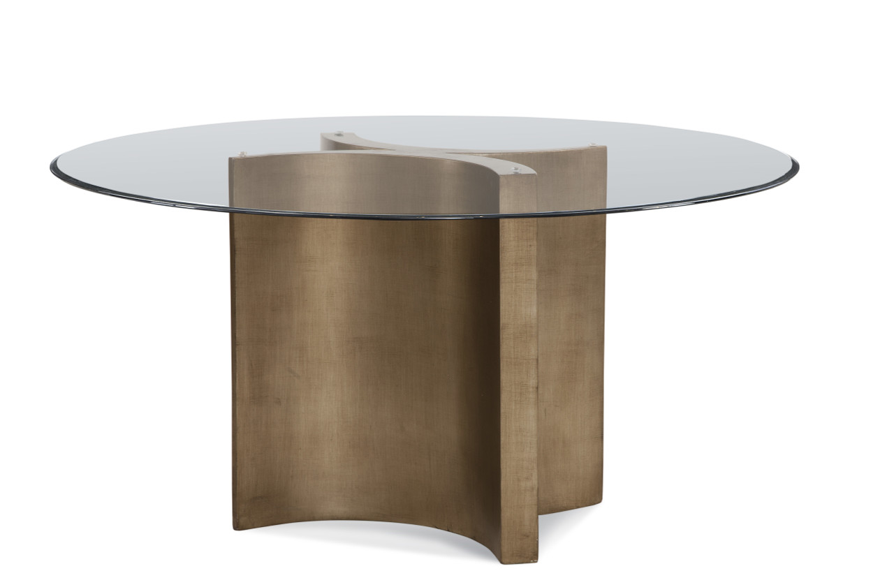 Bassett Mirror Symmetry Round Dining Base In Dining Tables At Studiolx