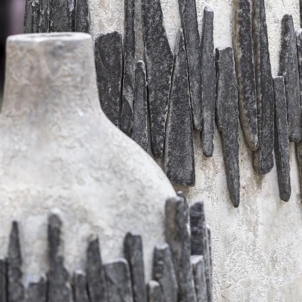 Uttermost Rutva Aged Ivory Vases, S/2