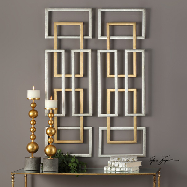 Uttermost Aerin Geometric Wall Art, S/2