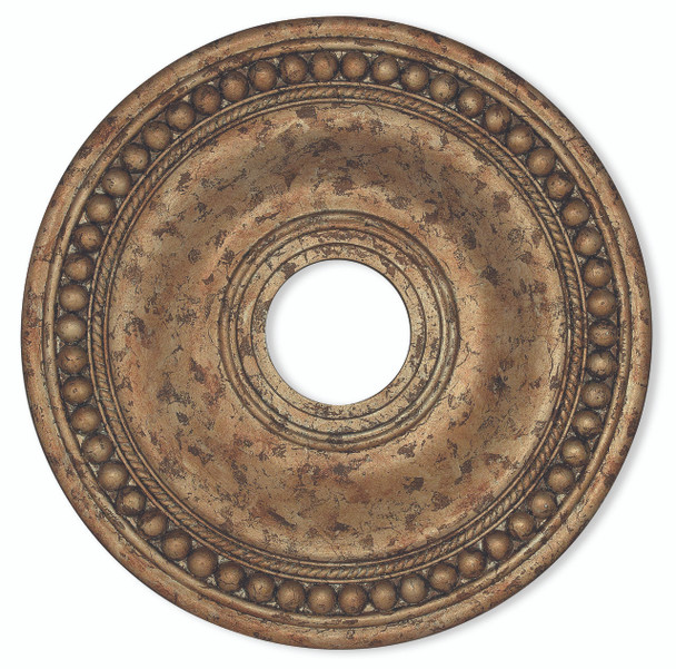 Livex Lighting European Bronze Ceiling Medallion - 82074-36