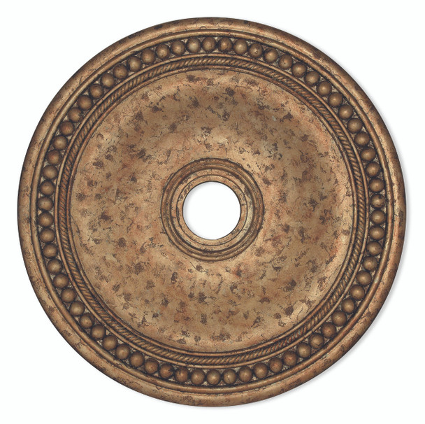 Livex Lighting European Bronze Ceiling Medallion - 82076-36