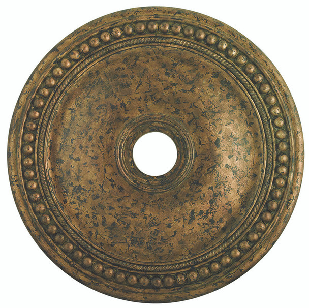 Livex Lighting Venetian Golden Bronze Ceiling Medallion - 82076-71