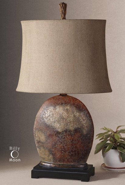 Uttermost Yunu Distressed Table Lamp