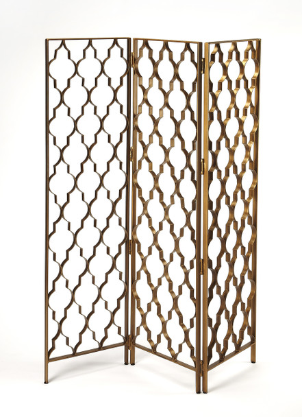 Butler Vala Antique Gold Screen