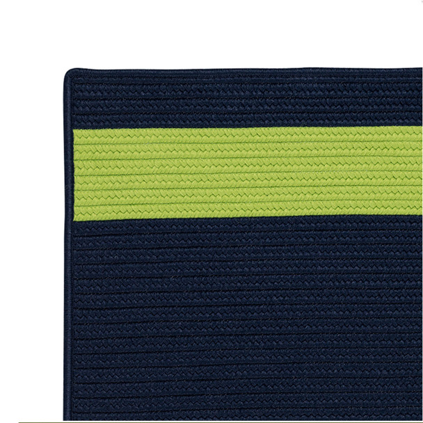 Colonial Mills Aurora Ar15 Navy Green Area Rugs