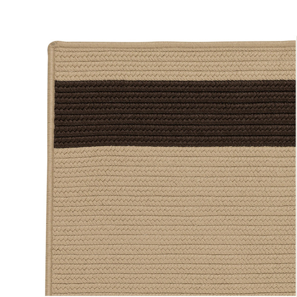 Colonial Mills Aurora Ar35 Sand Brown Area Rugs