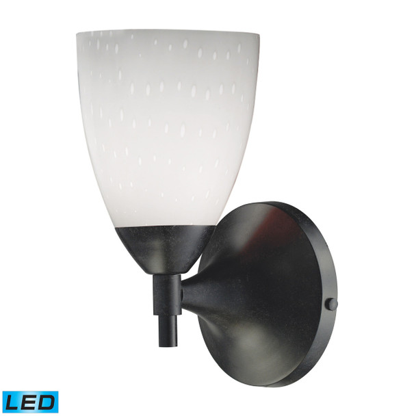ELK Lighting Celina 1-Light Sconce - 10150/1DR-WH-LED