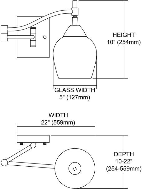 ELK Lighting Celina 1-Light Sconce - 10151/1PC-SLV