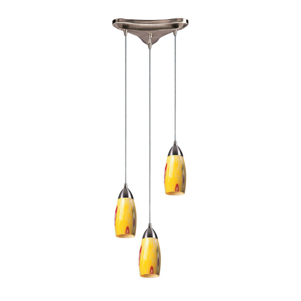ELK Lighting Milan 3-Light Mini Pendant - 110-3YW