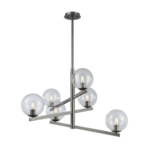 ELK Lighting Globes Of Light 6-Light Chandelier - 12182/6
