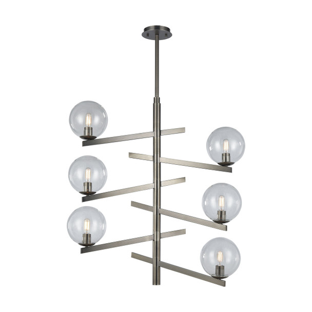 ELK Lighting Globes Of Light 6-Light Chandelier - 12183/6