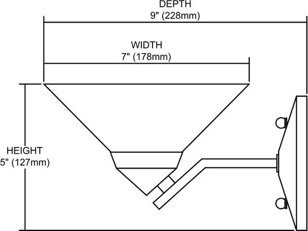 ELK Lighting Refraction 1-Light Sconce - 1470/1CAR