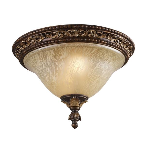 ELK Lighting Regency 2-Light Flush Mount - 2156/2