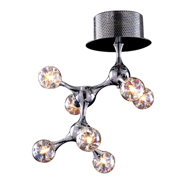 ELK Lighting Molecular 7-Light Semi Flush Mount - 30014/7
