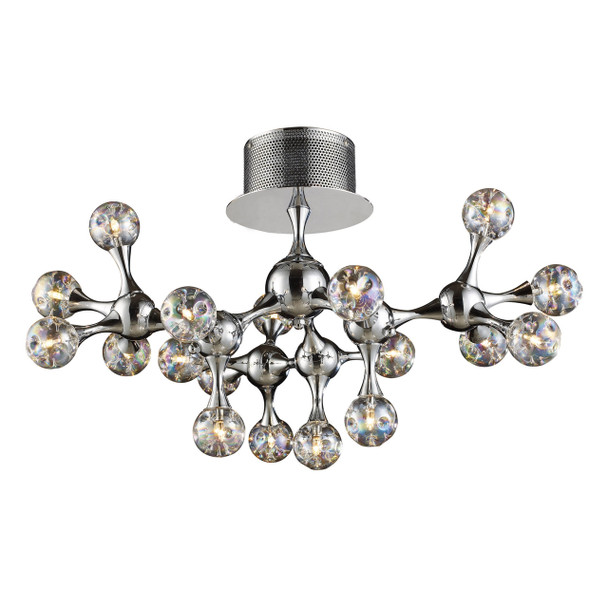 ELK Lighting Molecular 18-Light Semi Flush Mount - 30026/18