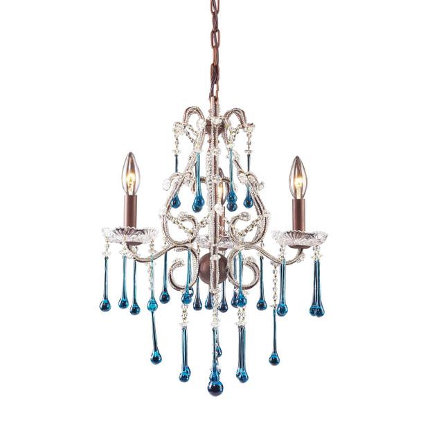 ELK Lighting Opulence 3-Light Chandelier - 4011/3AQ