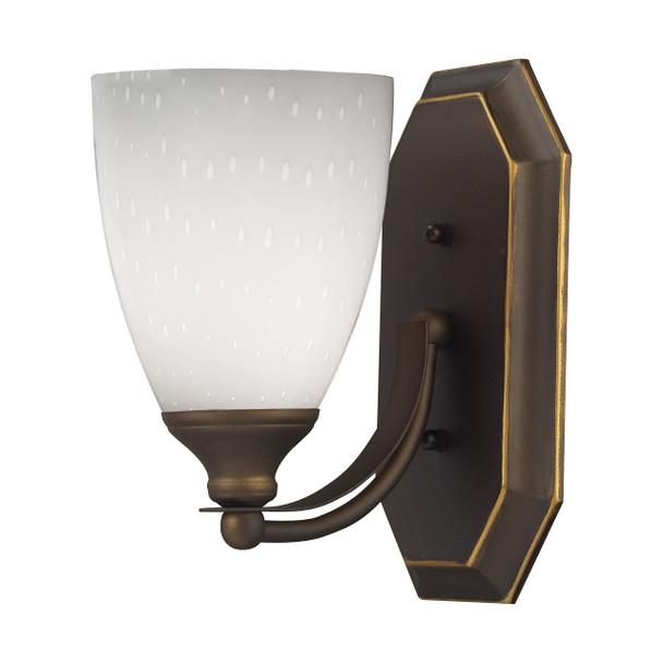 ELK Lighting Bath And Spa 1-Light Vanity Light - 570-1B-WH