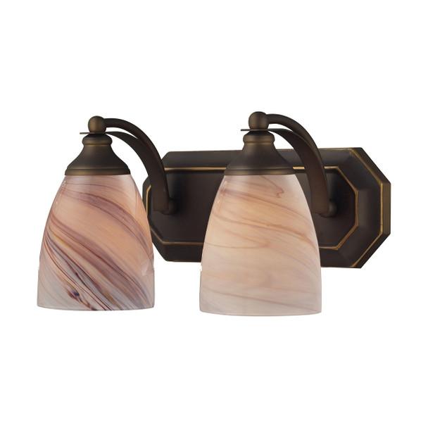 ELK Lighting Bath And Spa 2-Light Vanity Light - 570-2B-CR
