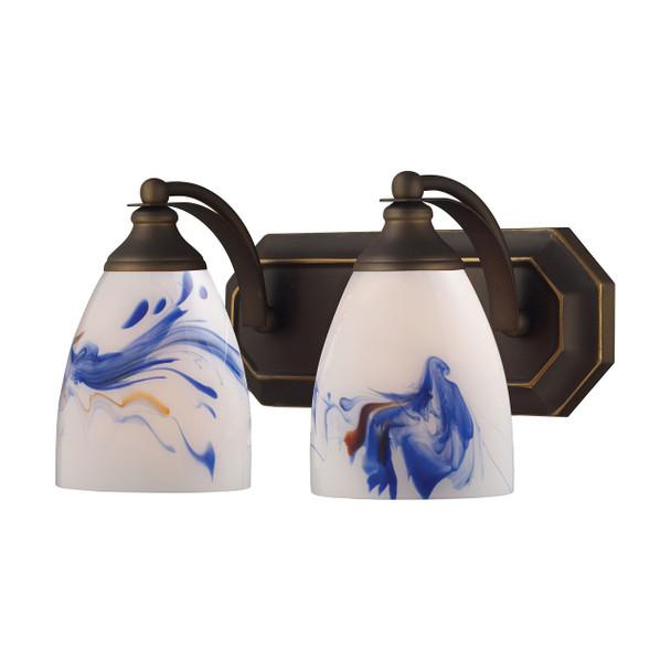ELK Lighting Bath And Spa 2-Light Vanity Light - 570-2B-MT