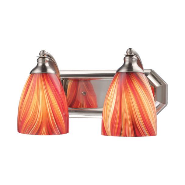 ELK Lighting Bath And Spa 2-Light Vanity Light - 570-2N-M