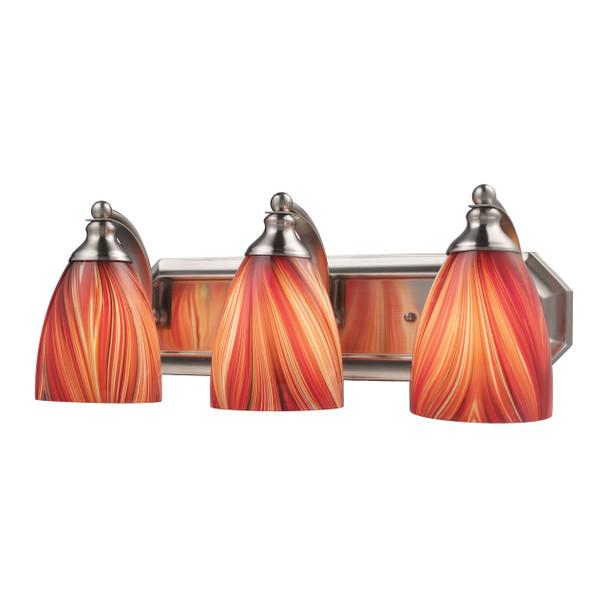 ELK Lighting Bath And Spa 3-Light Vanity Light - 570-3N-M