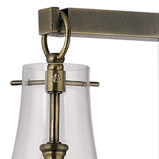 ELK Home Antique Brass 1-Light Floor Lamp - D329