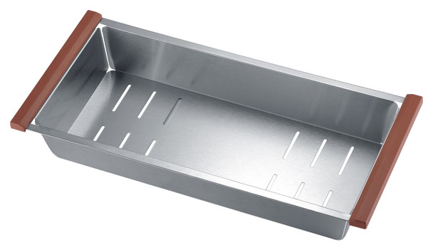 ANZZI Aegis Undermount Stainless Steel 32.75 In. 0-hole 50/50 Double Bowl Kitchen Sink With Cutting Board And Colander - K-AZ3219-2Ac
