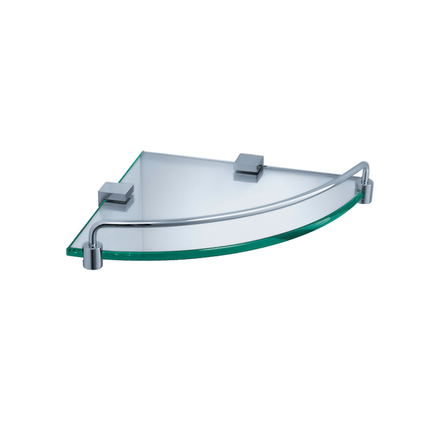 Fresca Ottimo Corner Glass Shelf - Chrome - FAC0448