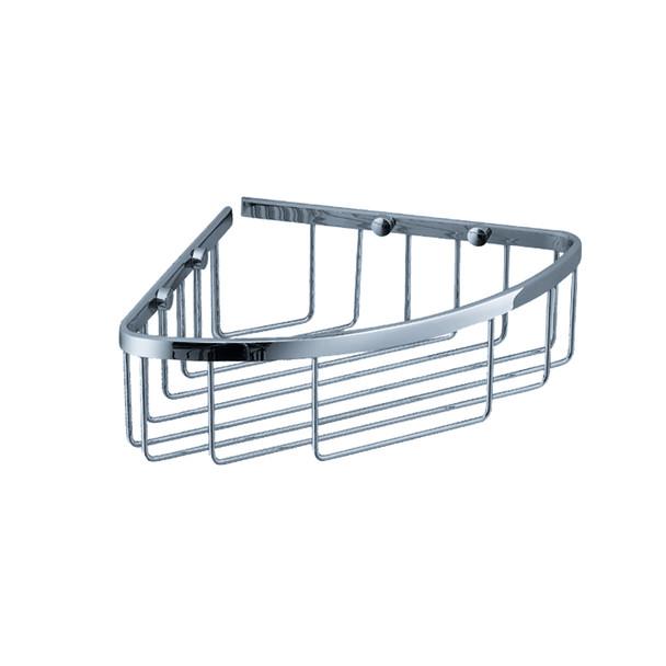 Fresca Single Corner Wire Basket - Chrome - FAC1002