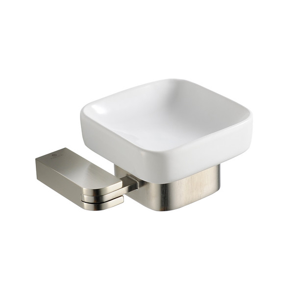 Fresca Solido Soap Dish - Brushed Nickel - FAC1308BN