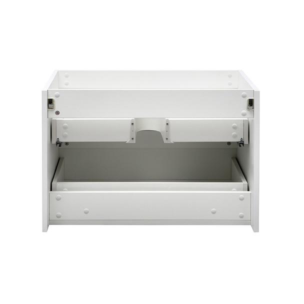 "Fresca Valencia 30"" Glossy White Wall Hung Modern Bathroom Cabinet - FCB8330WH"