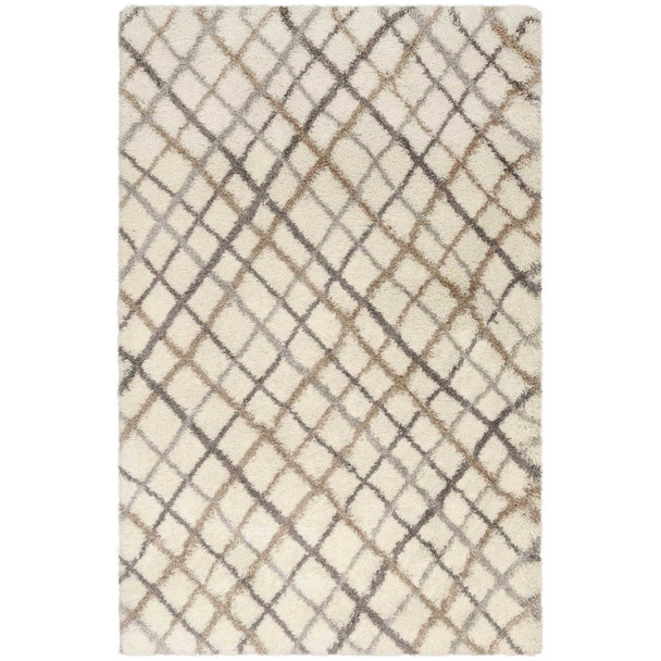 Liora Manne Andes 6242/12 Plaid Beige Wilton Woven Area Rugs
