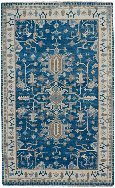 Capel Inspirit Deep Blue 1094_440 Hand Knotted Rugs