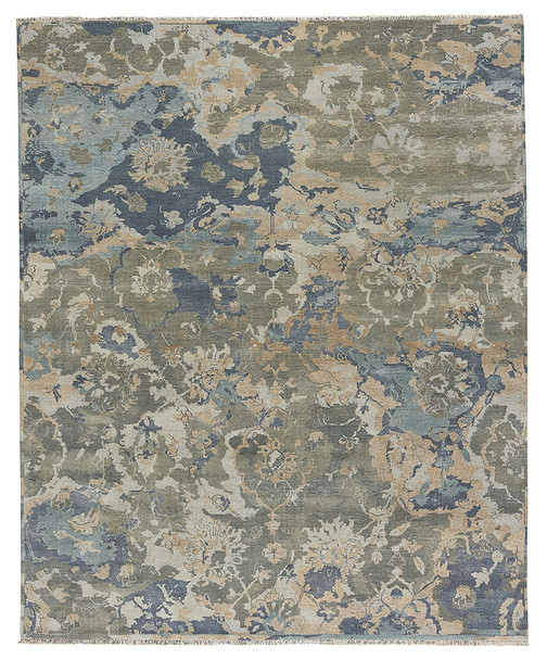 Capel Ellerbe Azure Multi 1095_440 Hand Knotted Rugs