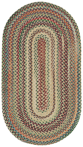 Capel Sherwood Forest Amber 0980_150 Braided Rugs
