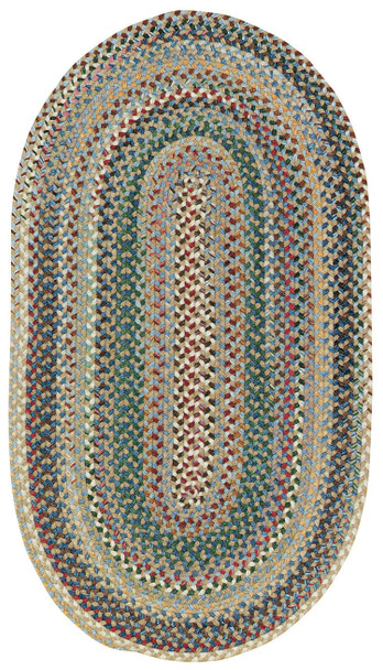 Capel Sherwood Forest Light Blue 0980_400 Braided Rugs